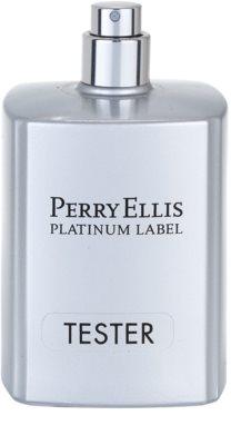 Perry Ellis Platinum Label eau de toilette teszter férfiaknak