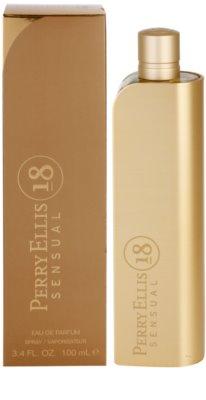 Perry Ellis 18 Sensual eau de parfum nőknek