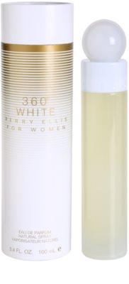 Perry Ellis 360° White Eau de Parfum para mulheres