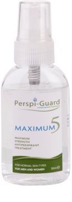 Perspi-Guard Maximum 5 antiperspirant spray cu protectie maxima