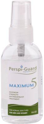 Perspi-Guard Maximum 5 magas hatékonyságú izzadásgátló spray formában