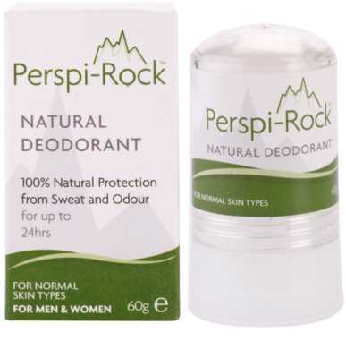 Perspi-Rock Natural desodorante mineral  cristal sólido 2