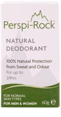Perspi-Rock Natural desodorante mineral  cristal sólido 3