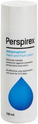 Perspirex Original Tonikum gegen das Schwitzen von Handflächen und Füßen Wirkung 3-5 Tage