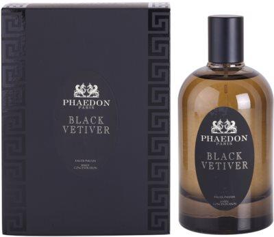 Phaedon Black Vetiver eau de parfum unisex