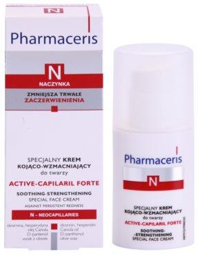 Pharmaceris N-Neocapillaries Active-Capilaril Forte speciální krém na rozšířené a popraskané žilky 2
