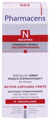Pharmaceris N-Neocapillaries Active-Capilaril Forte speciális krém a kitágult erekre és a visszérre 3