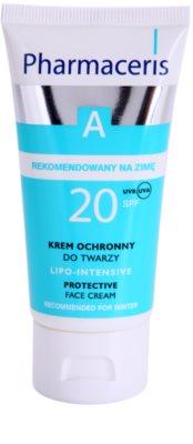 Pharmaceris A-Allergic&Sensitive Lipo-Intesive crema protectora para pieles muy sensibles  con glicerina