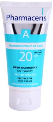 Pharmaceris A-Allergic&Sensitive Lipo-Intesive zaščitna krema za zelo občutljivo kožo z glicerinom