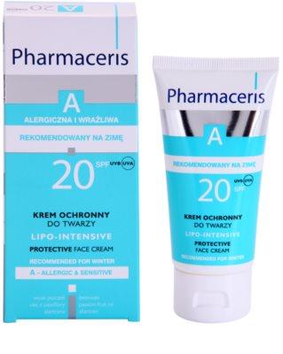 Pharmaceris A-Allergic&Sensitive Lipo-Intesive zaščitna krema za zelo občutljivo kožo z glicerinom 1