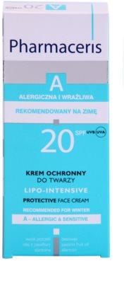 Pharmaceris A-Allergic&Sensitive Lipo-Intesive zaščitna krema za zelo občutljivo kožo z glicerinom 2