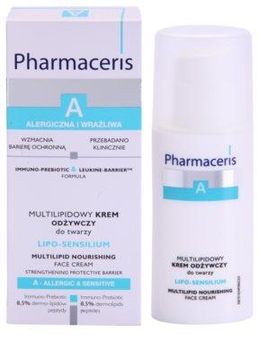 Pharmaceris A-Allergic&Sensitive Lipo-Sensilium поживний крем відновлюючий бар'єр шкіри 2