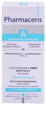Pharmaceris A-Allergic&Sensitive Lipo-Sensilium поживний крем відновлюючий бар'єр шкіри 3