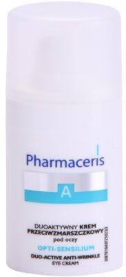 Pharmaceris A-Allergic&Sensitive Opti-Sensilium Augencreme gegen Falten für empfindliche Haut
