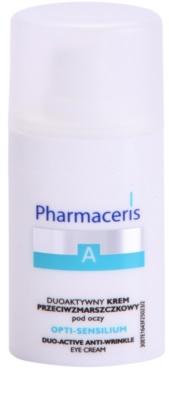 Pharmaceris A-Allergic&Sensitive Opti-Sensilium creme contorno de olhos antirrugas para pele sensível