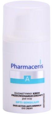 Pharmaceris A-Allergic&Sensitive Opti-Sensilium krema proti gubam za predel okoli oči za občutljivo kožo