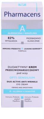 Pharmaceris A-Allergic&Sensitive Opti-Sensilium крем проти зморшок для шкіри навколо очей для чутливої шкіри 3