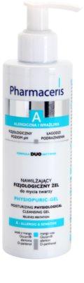 Pharmaceris A-Allergic&Sensitive Physiopuric-Gel gel limpiador micelar para pieles sensibles y alérgicas