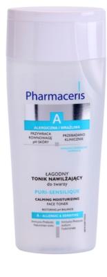 Pharmaceris A-Allergic&Sensitive Puri-Sensilique tónico hidratante com ácido hialurônico com ácido hialurónico