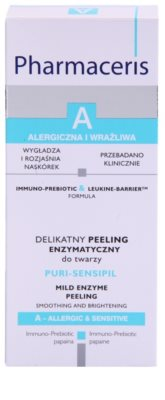 Pharmaceris A-Allergic&Sensitive Puri-Sensipil peeling enzimático para pele sensível 2