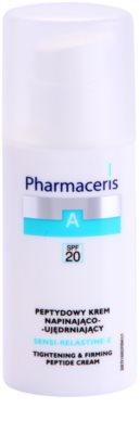 Pharmaceris A-Allergic&Sensitive Sensi-Relastine-E festigende Creme mit straffender Wirkung für empfindliche und allergische Haut