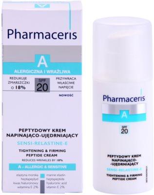 Pharmaceris A-Allergic&Sensitive Sensi-Relastine-E učvrstitvena krema z učinkom liftinga za občutljivo in alergično kožo 2
