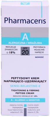 Pharmaceris A-Allergic&Sensitive Sensi-Relastine-E festigende Creme mit straffender Wirkung für empfindliche und allergische Haut 3
