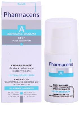 Pharmaceris A-Allergic&Sensitive Ultra-Sensilium pomirjujoča krema za občutljivo in razdraženo kožo 2