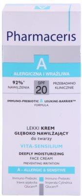 Pharmaceris A-Allergic&Sensitive Vita-Sensilium obnovující hydratační krém pro suchou a citlivou pokožku 3