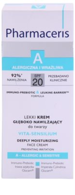 Pharmaceris A-Allergic&Sensitive Vita-Sensilium crema hidratante reparadora para pieles secas y sensibles 3