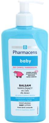 Pharmaceris B-Baby leche corporal hidratante para bebé lactante