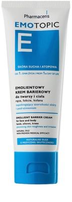 Pharmaceris E-Emotopic schützende Creme für zarte Haut Für Gesicht und Körper