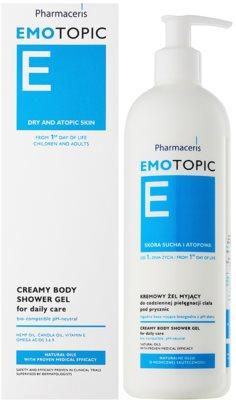 Pharmaceris E-Emotopic krémový sprchový gél na každodenné použitie 1