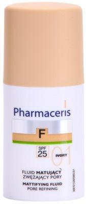 Pharmaceris F-Fluid Foundation Make-up lichid matifiant SPF 25