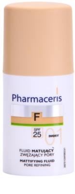 Pharmaceris F-Fluid Foundation Maquilhagem matificante em fluído SPF 25
