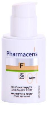 Pharmaceris F-Fluid Foundation maquillaje fluido matificante  SPF 25 1