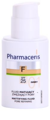 Pharmaceris F-Fluid Foundation Make-up lichid matifiant SPF 25 1
