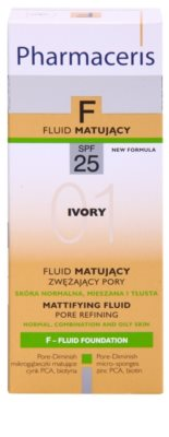 Pharmaceris F-Fluid Foundation Make-up lichid matifiant SPF 25 3
