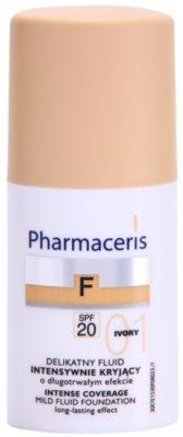 Pharmaceris F-Fluid Foundation intensives, deckendes Make up mit langanhaltendem Effekt SPF 20