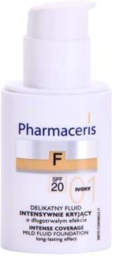 Pharmaceris F-Fluid Foundation intensives, deckendes Make up mit langanhaltendem Effekt SPF 20 1