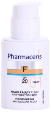 Pharmaceris F-Fluid Foundation Hydratisierendes Make Up SPF 20 1