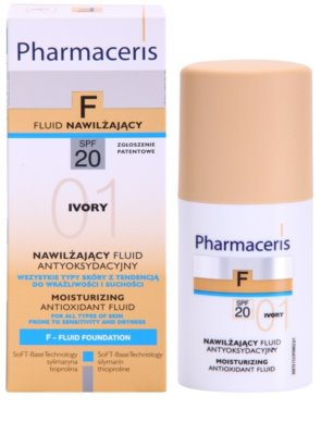 Pharmaceris F-Fluid Foundation Hydratisierendes Make Up SPF 20 2