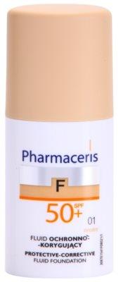 Pharmaceris F-Fluid Foundation защитен покривен фон дьо тен SPF 50+