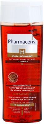 Pharmaceris H-Hair and Scalp H-Keratineum erősítő sampon meggyengült hajra