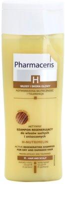 Pharmaceris H-Hair and Scalp H-Nutrimelin champú regenerador para cabello seco y dañado