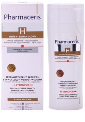 Pharmaceris H-Hair and Scalp H-Stimupurin šampon za spodbujanje rasti las in proti izpadanju las 1