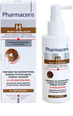 Pharmaceris H-Hair and Scalp H-Stimuforten ser pentru stimulare impotriva caderii parului 1