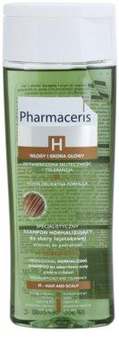 Pharmaceris H-Hair and Scalp H-Sebopurin champú calmante para cabello graso y cuero cabelludo