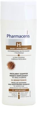 Pharmaceris H-Hair and Scalp H-Sensitonin pomirjajoči šampon za občutljivo lasišče za tanke lase