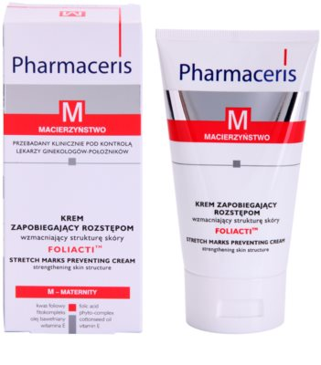 Pharmaceris M-Maternity Foliacti крем за тяло за профилактика на стрии 1